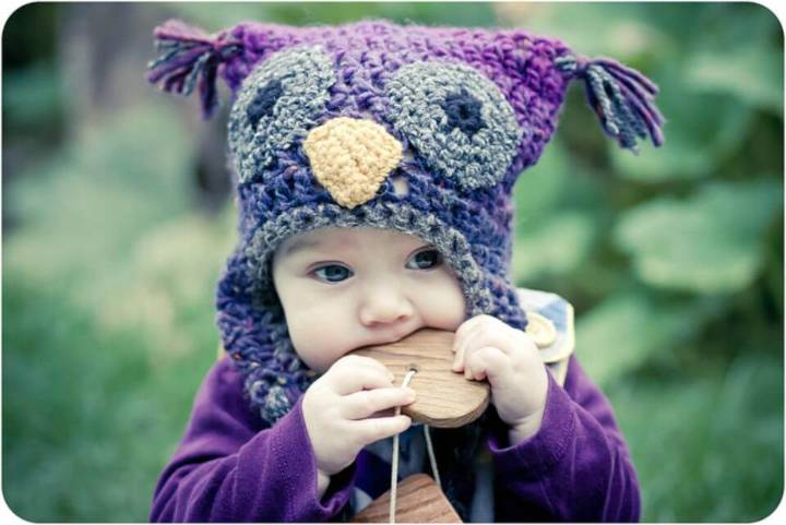 How To Free Crochet Woolly Owl Hat Pattern