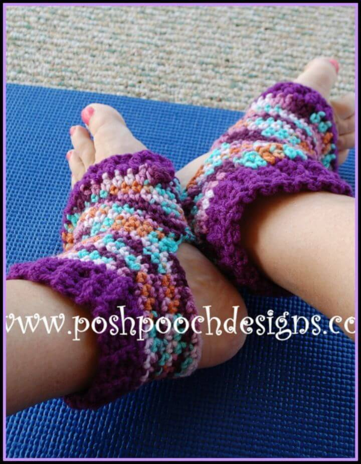 How To Free Crochet Yoga Sock Pattern