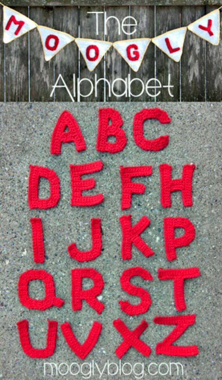 How To Crochet Letters - Free Patterns