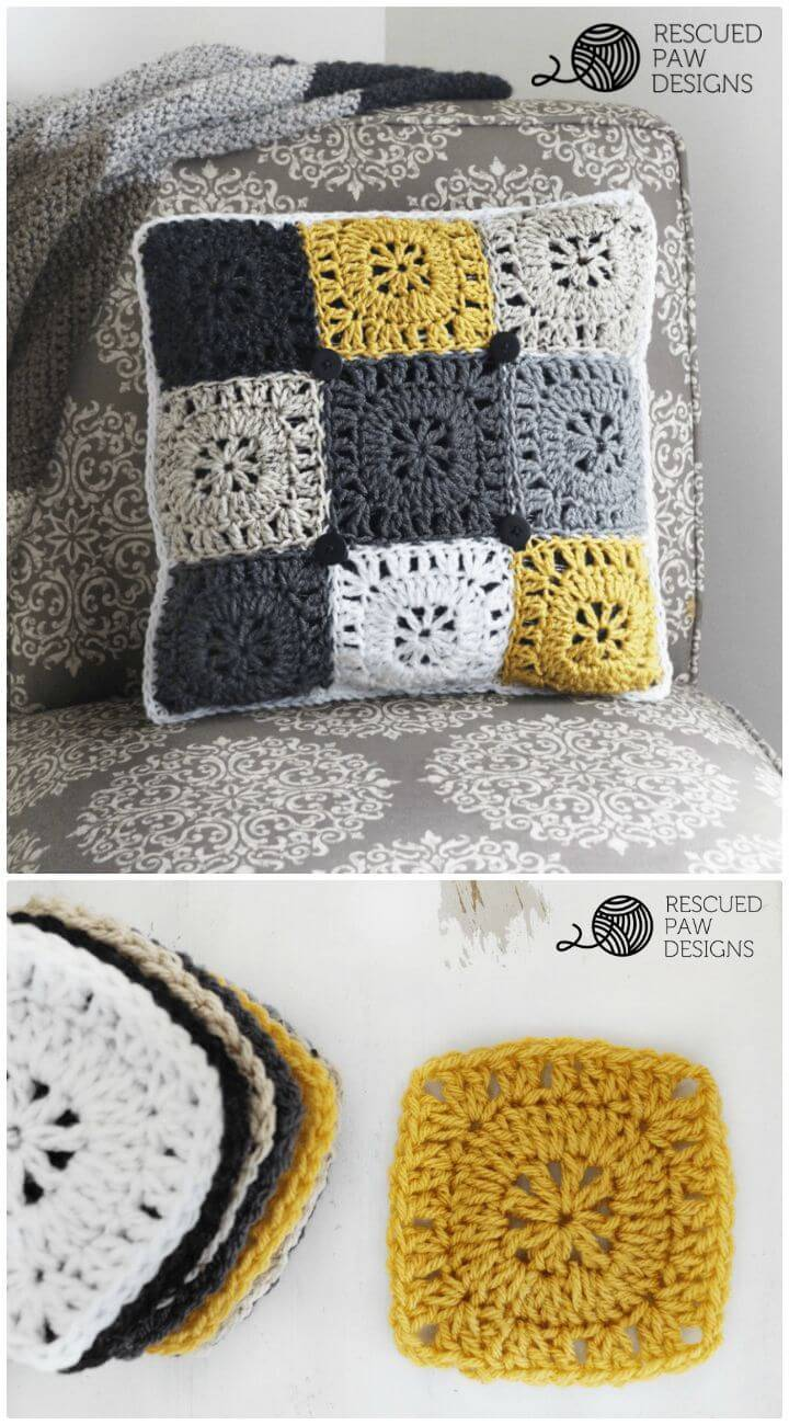 How To Free Crochet Pillow Pattern