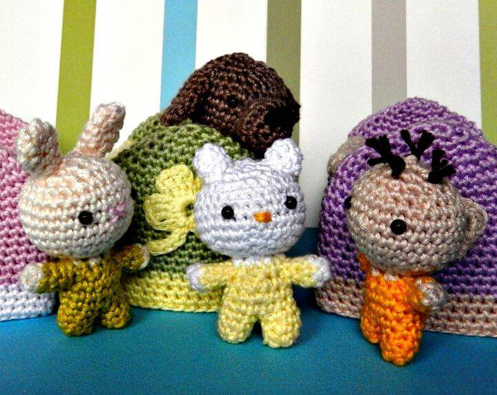 Free Crochet A Baby - Amigurumi Pattern