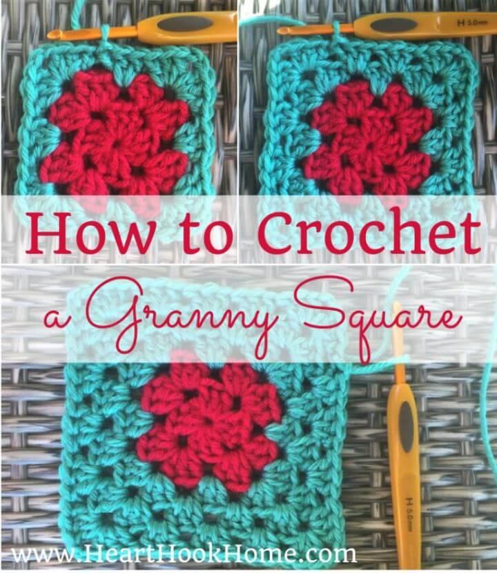 Free Crochet A Classic Granny Square Pattern