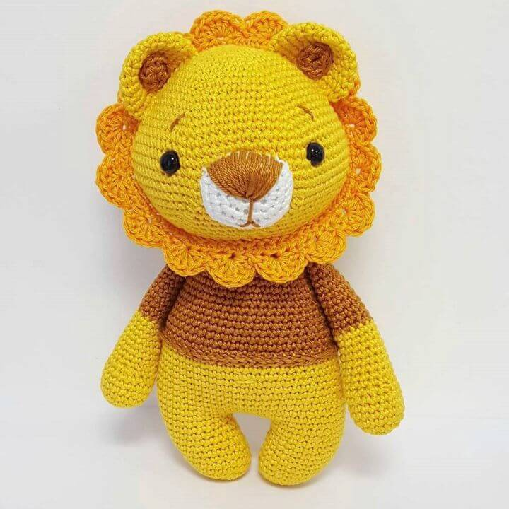 10 free crochet lion amigurumi patterns diy crafts free crochet lion amigurumi pattern dt1010fo