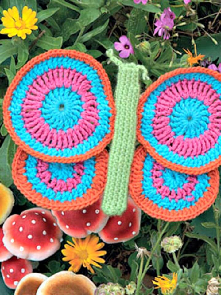 Easy Free Crochet Gorgeous Butterfly Pattern