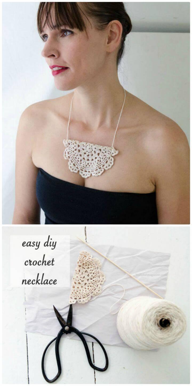 Free Crochet Necklace Savior Pattern