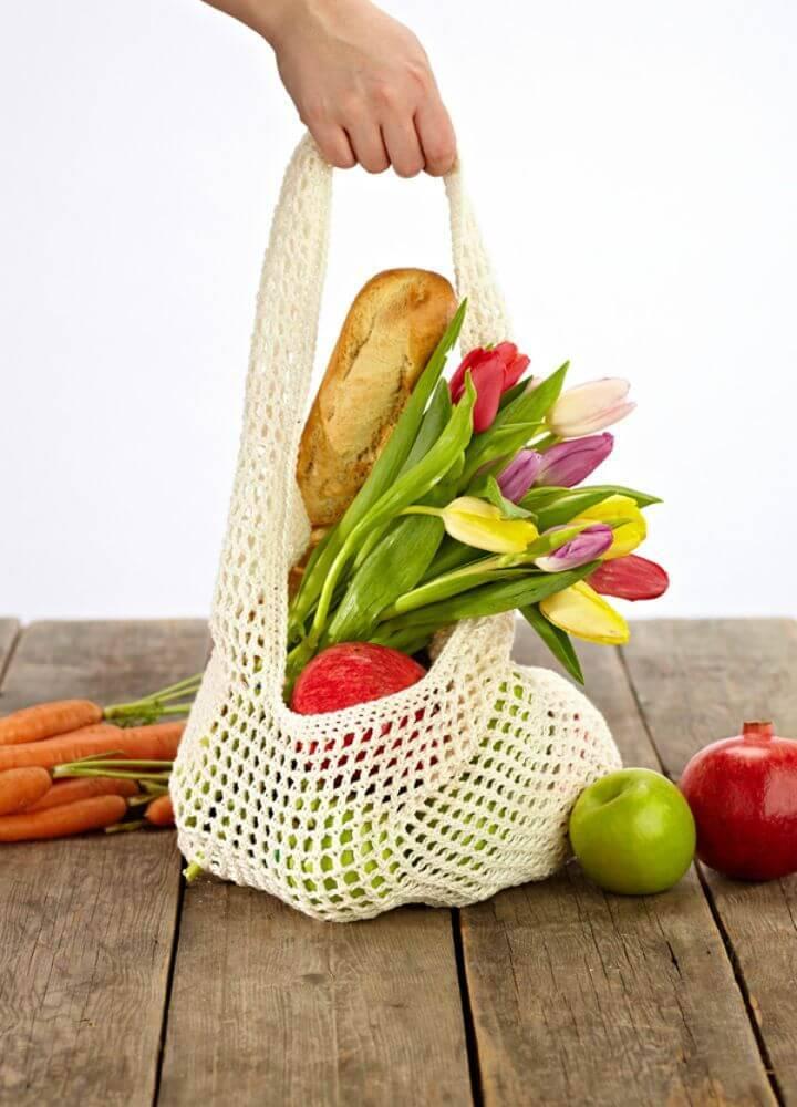 Free Crochet Market Shopper Bag Pattern