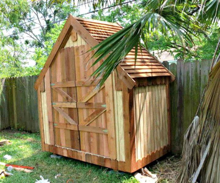 Diy shed plans 36 easy diy shed designs for your home for Narrow garden sheds