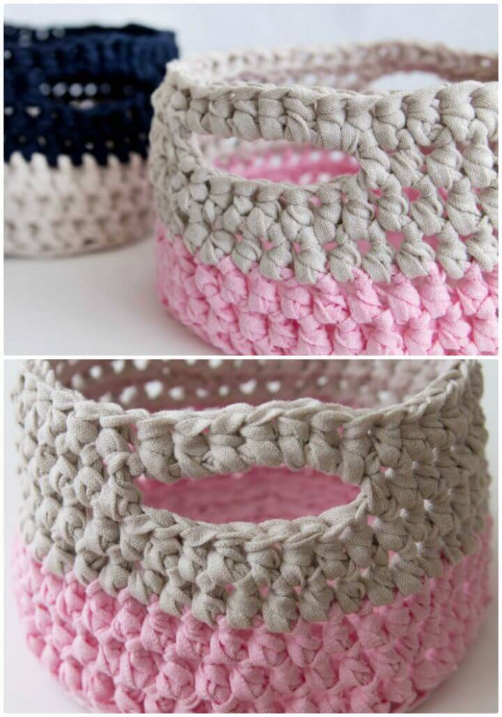How To Crochet Basket - Free Pattern