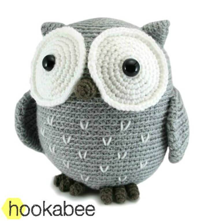 Easy Free Koko The Owl Amigurumi Pattern