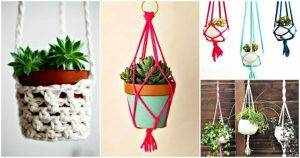 Macrame Plant Hanger – 100 Best Macrame Ideas for Hanging Plants