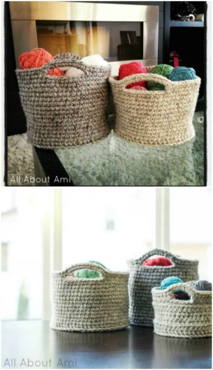 Make Your Own Crocheted Basket