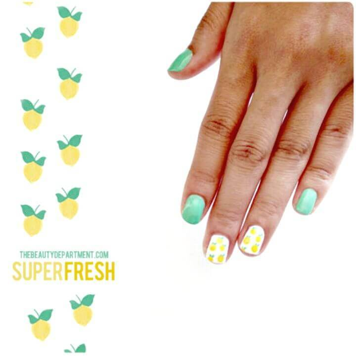 DIY Mani Monday Nail Art - Free Tutorial
