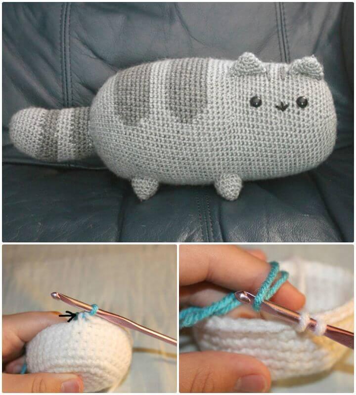 20 Free Crochet Cat Patterns - Crochet Cat Toys - DIY & Crafts