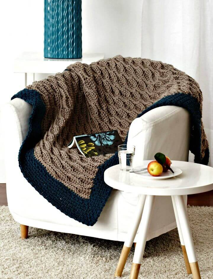 Quick & Easy Blanket - Free Easy Afghan Crochet Pattern