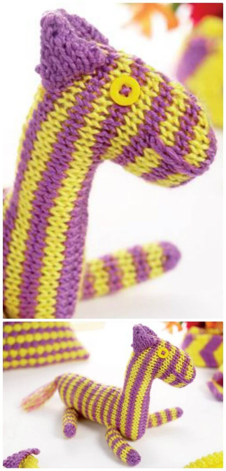 Make An Awesome Crochet Zebra - Free Pattern