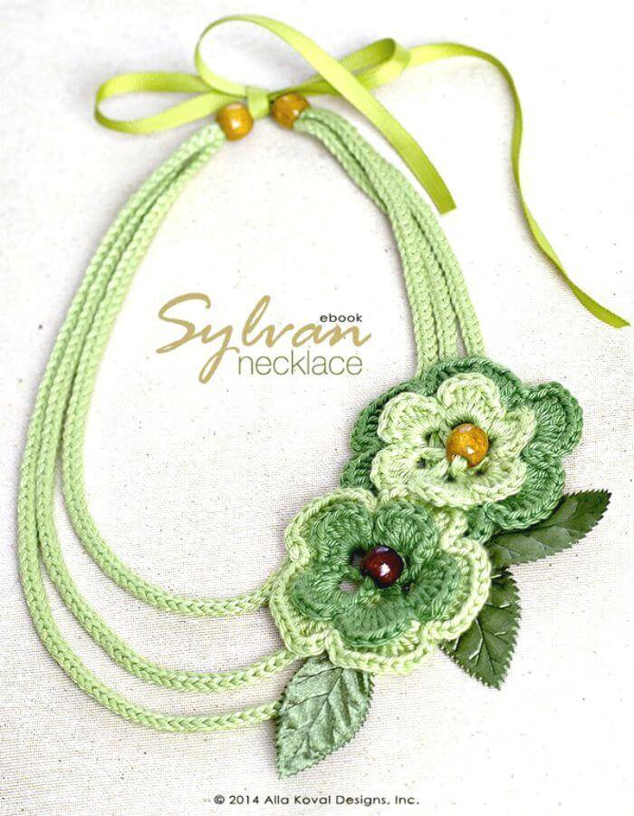 Sylvan Free Crocheted Necklace Pattern For Kids And Adult