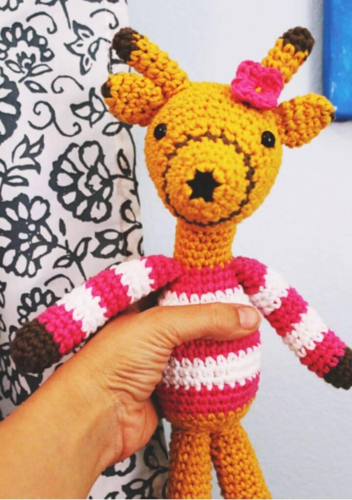 Unique Free Crochet Giraffe Pattern