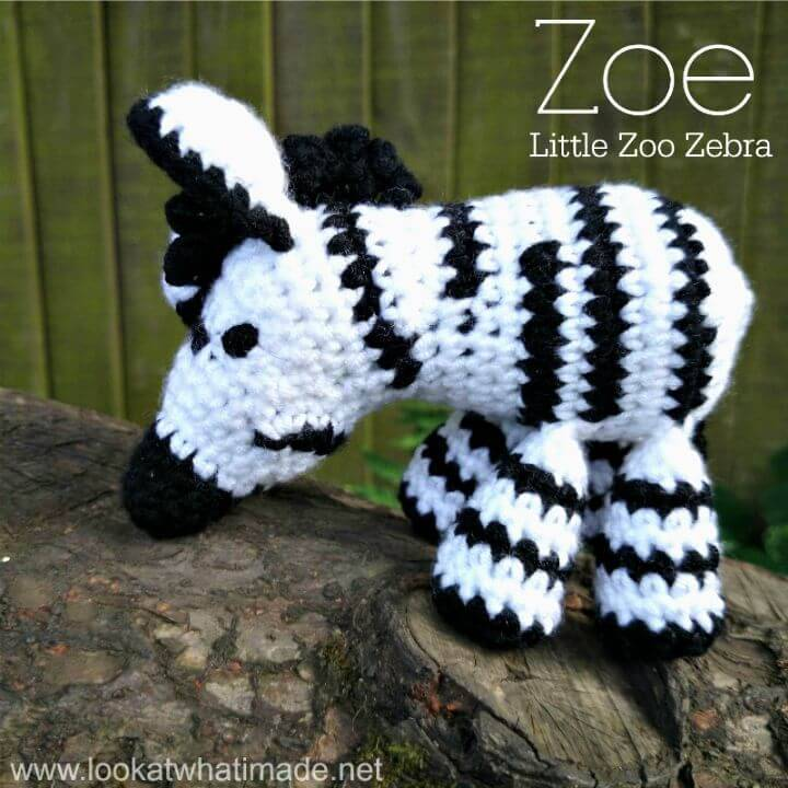 Zoe the Crochet Zebra - Free Pattern