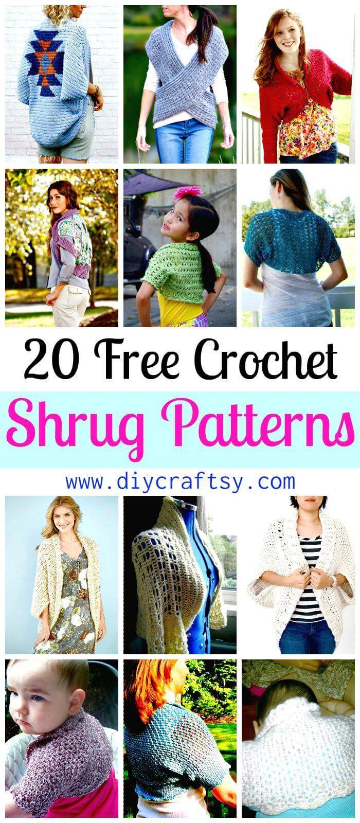 Crochet Shrug Patterns