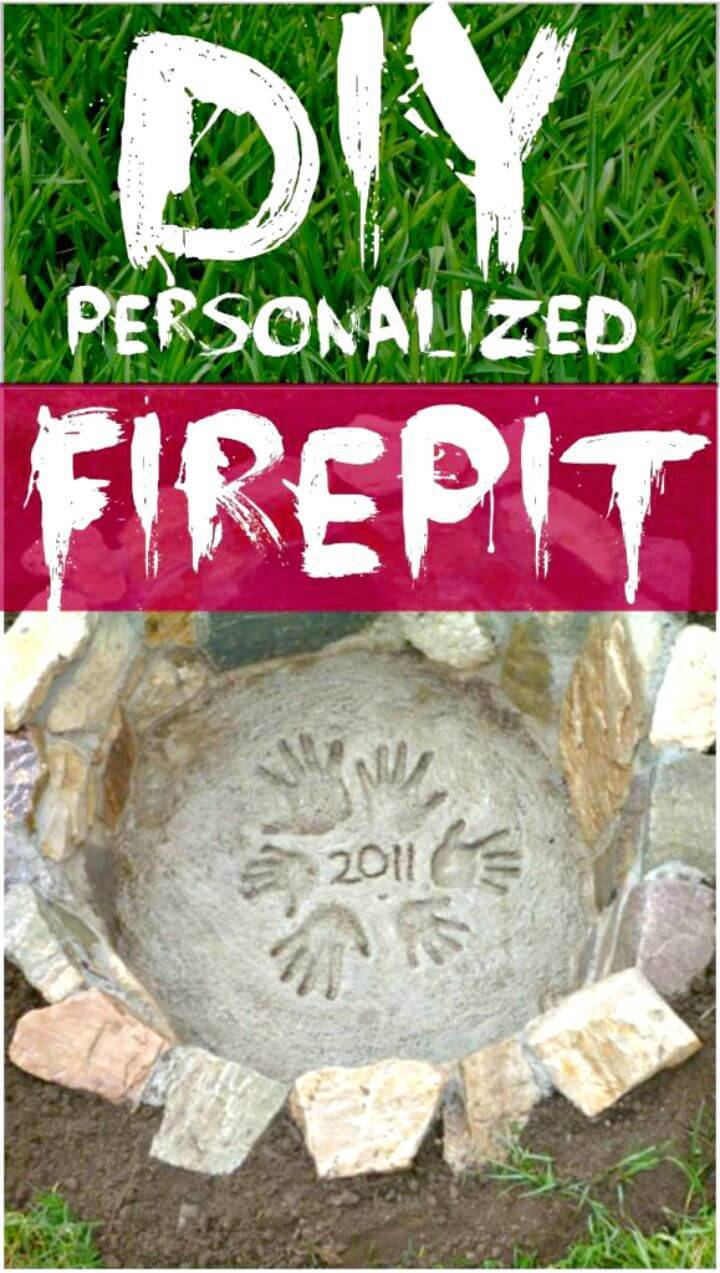 DIY Personalized Fire Pit Tutorial