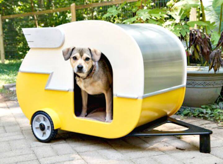 How To Build A Shasta-style Puppy Camper Playhouse Tutorial