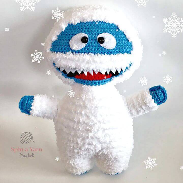 Free Crochet Bumble the Abominable Snowman Pattern