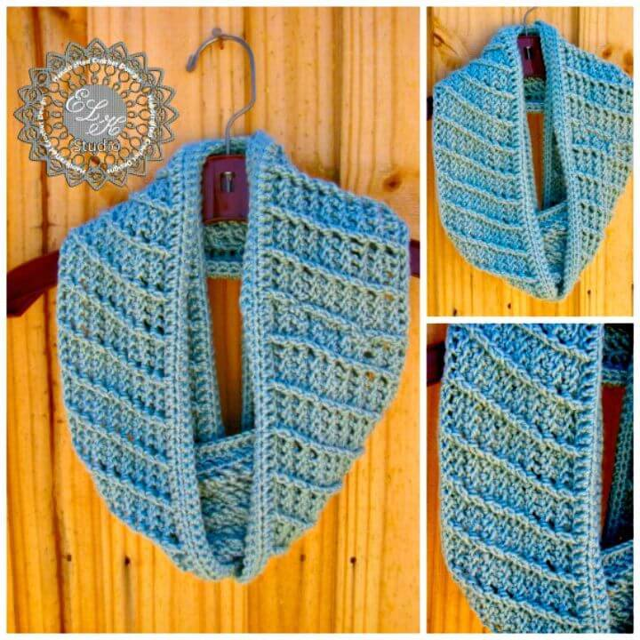 How To Free Crochet Infinity Scarf Pattern