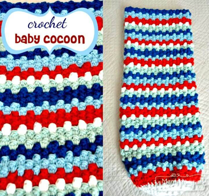 Free Crochet Baby Cocoon Free Pattern – Raspberry Stitch