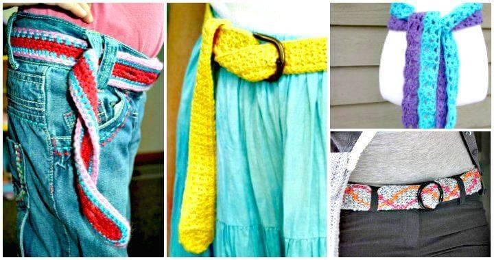 Crochet Belt Patterns – 44 Free Tutorials - Free Crochet Patterns - DIY Crafts