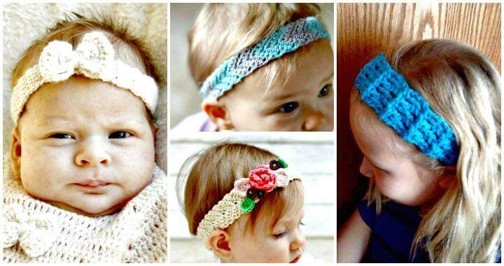 Crochet Headbands for Babies - 28 Free Patterns - DIY Crafts