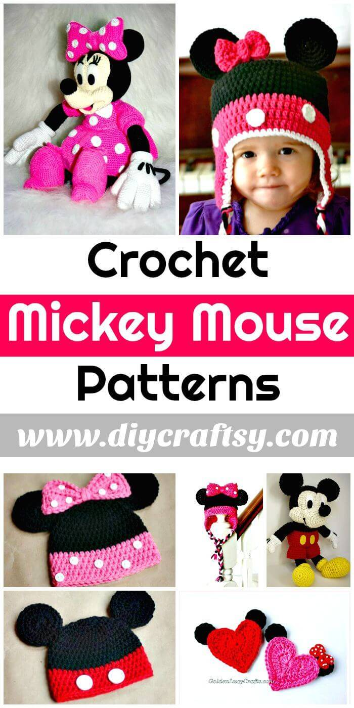 Crochet Mickey Mouse Patterns