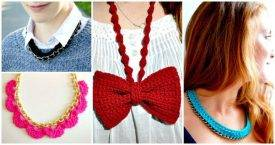 Crochet Necklace - 27 Free Crochet Patterns - DIY Crafts