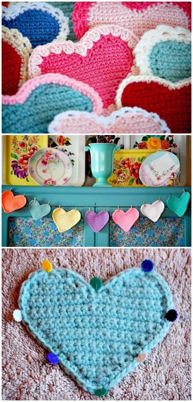 Crochet Sweet Heart - Free Pattern