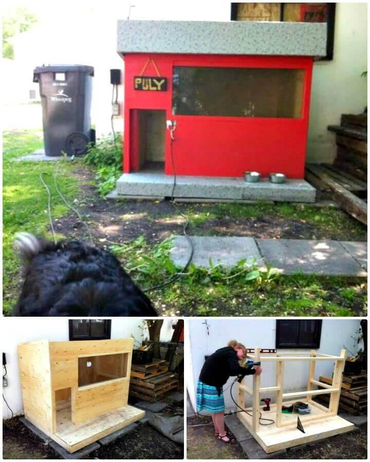 Easy DIY A Dog House Step By Step Tutorial