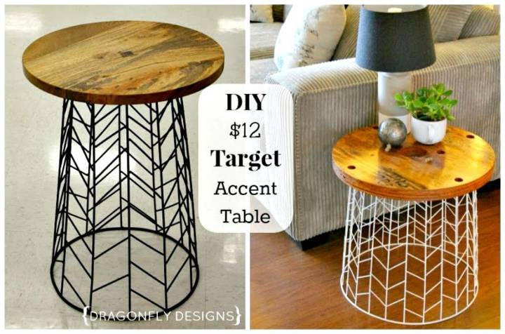 Easy DIY Accent Table Tutorial