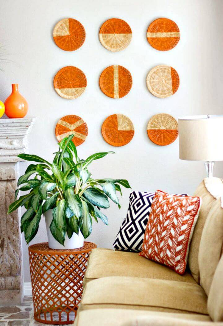 Amazing DIY Basket Wall Art Tutorial