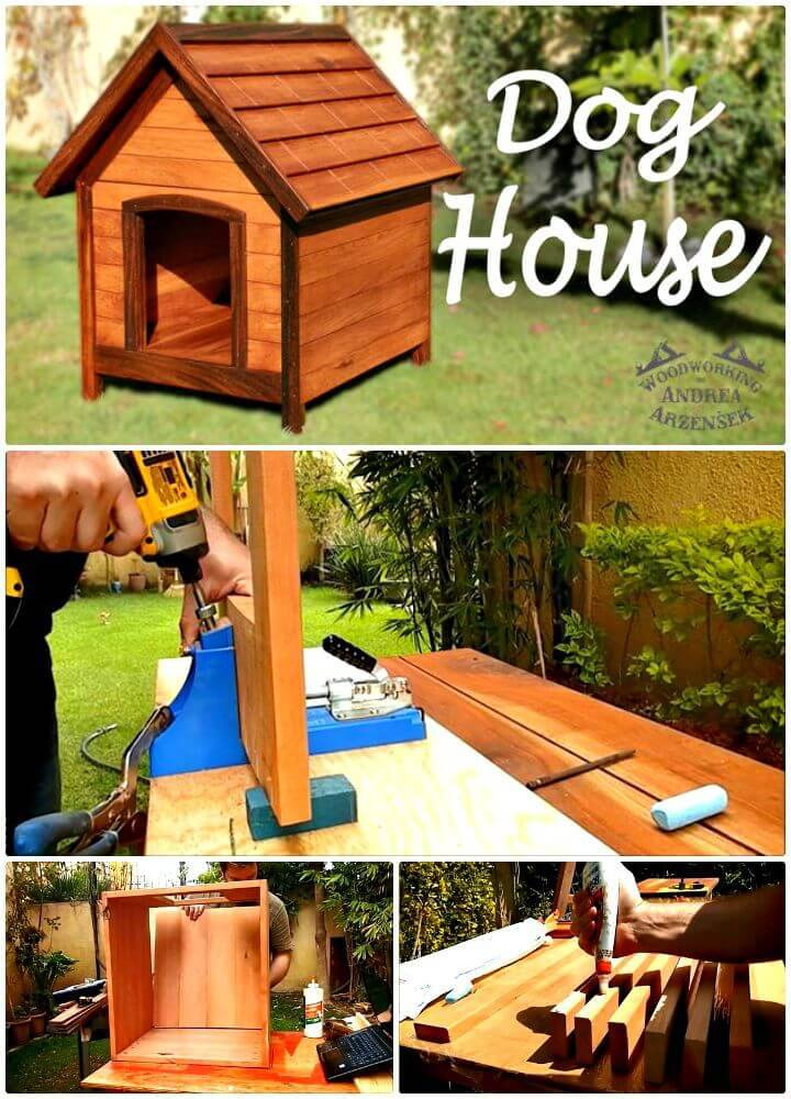 Beautiful DIY Dog House Step By Step Tutorial