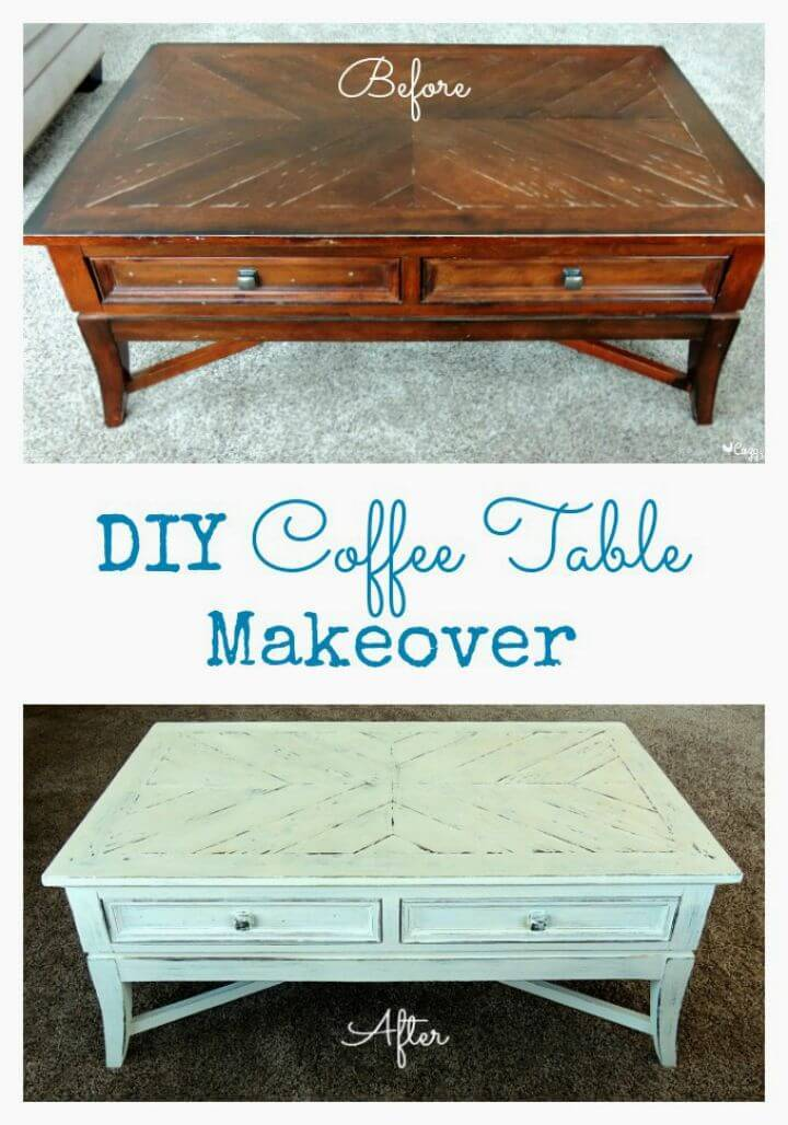 How To Make A Coffee Table Makeover