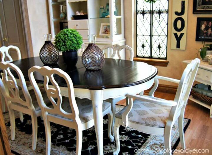 Easy DIY Dining Table Makeover