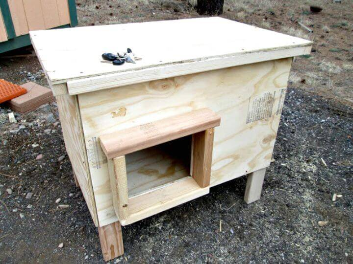 How To DIY Dog House Plans