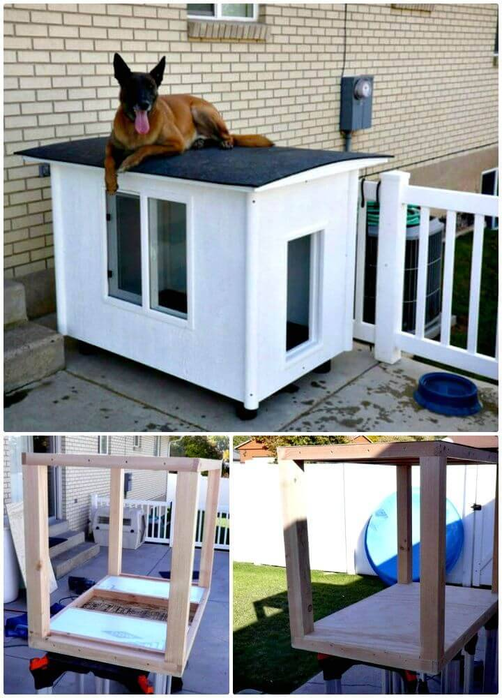 Easy How To DIY Dog Mansion Tutorial