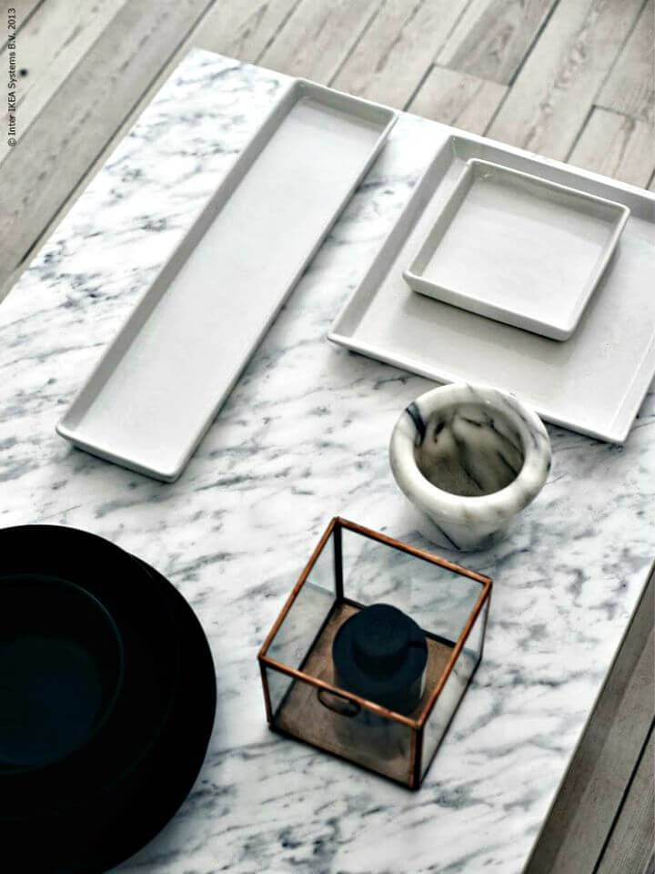 Easy DIY Marble Coffee Table Tutorial