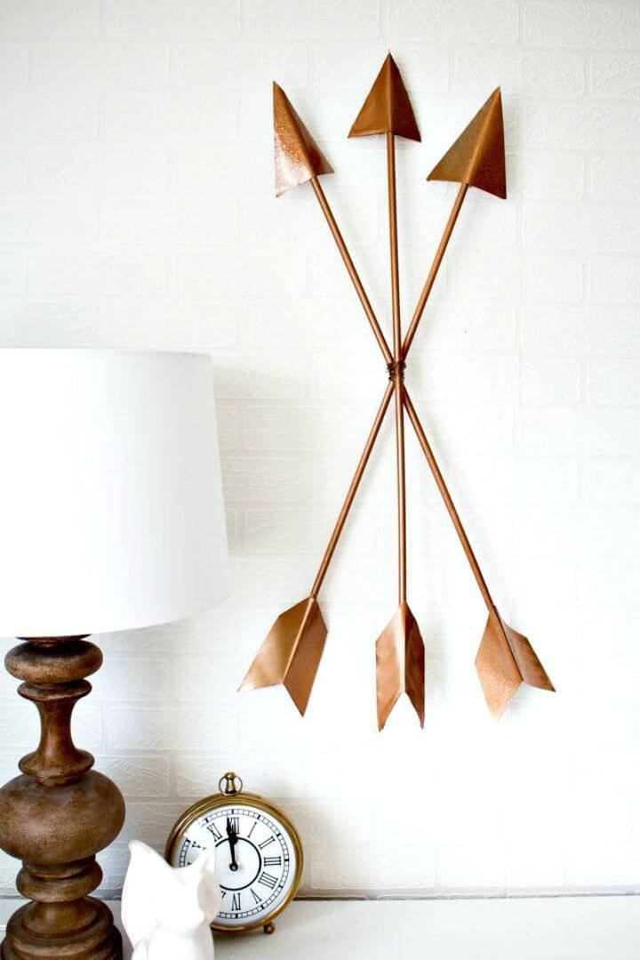 Modern DIY Arrow Wall Art Tutorial