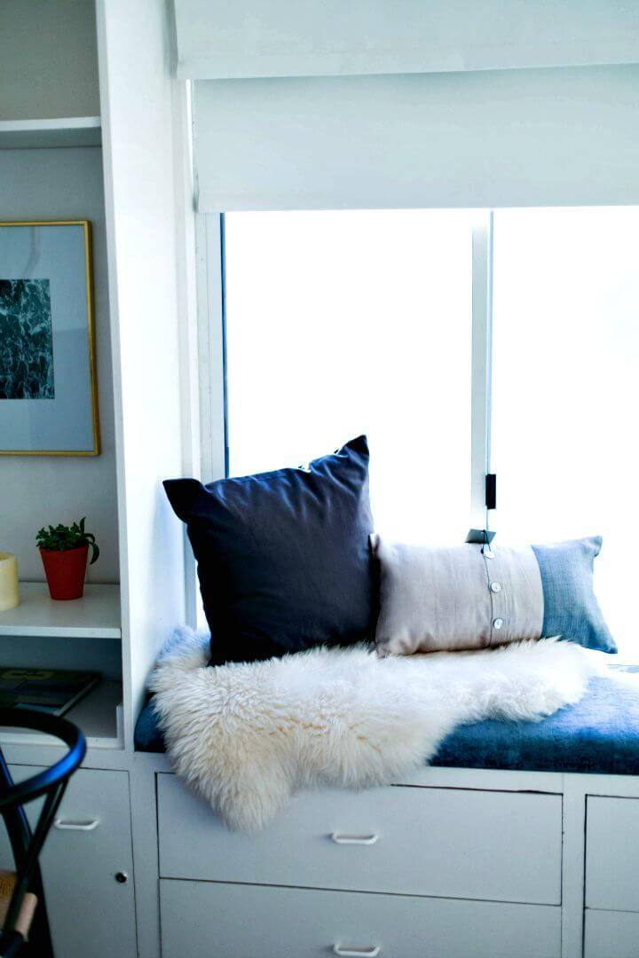 Easy DIY Window Seat Cushion Tutorial