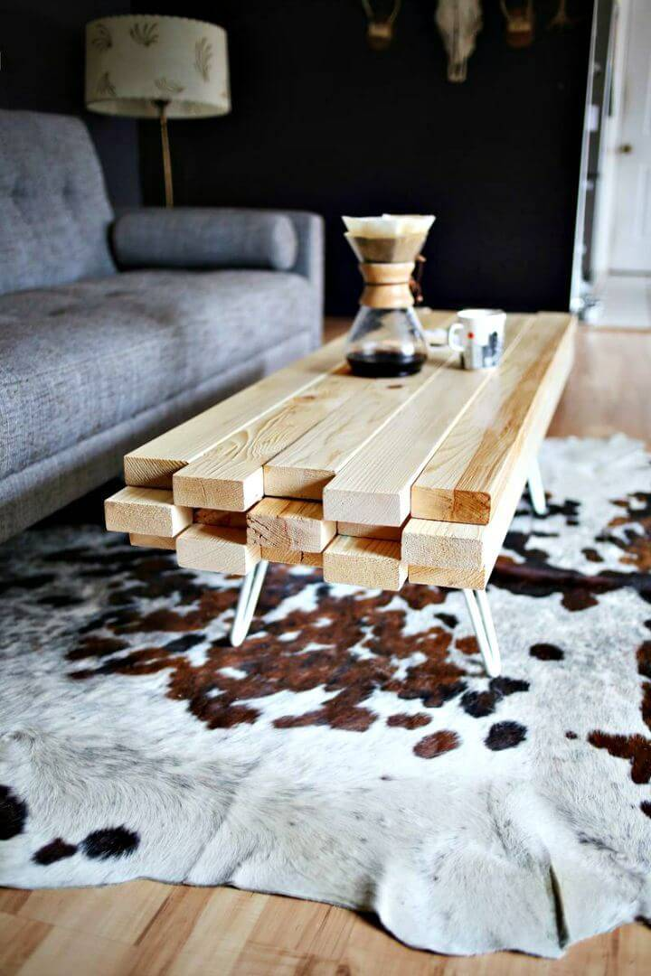 How To Build A Wooden Coffee Table