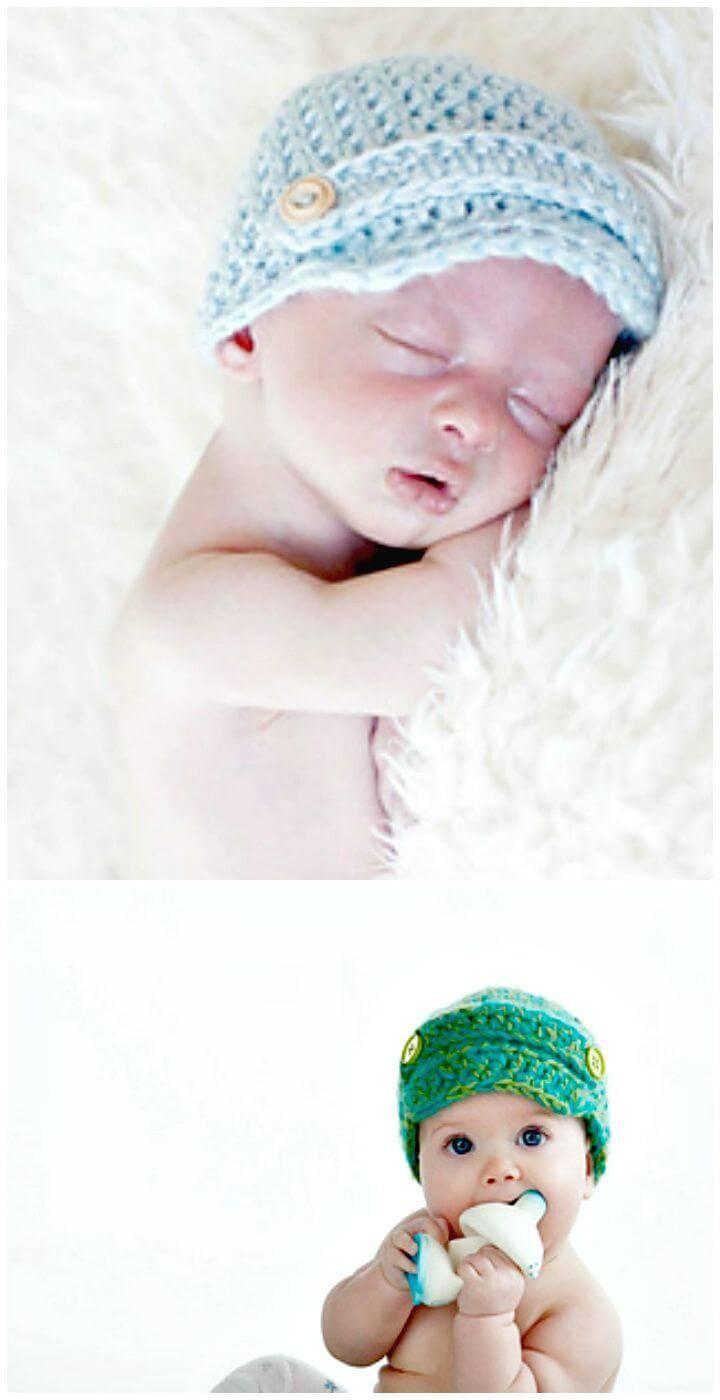 Crochet Buy My Papes Sir Newsboy Hat