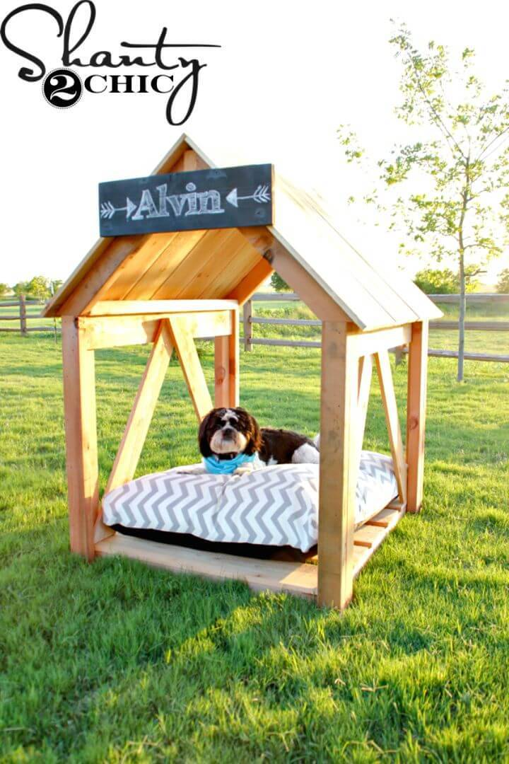 Easy DIY Dog House Step By Step Tutorial