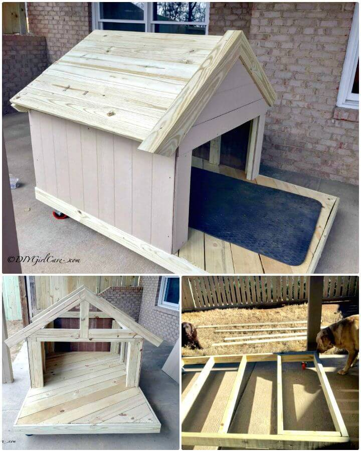 Easy DIY Dog House Tutorial