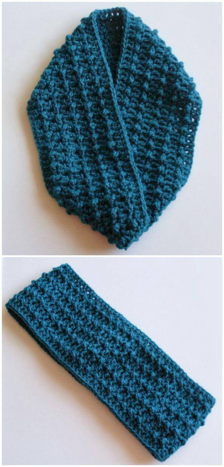 Easy Free Crochet A New Cowl Pattern