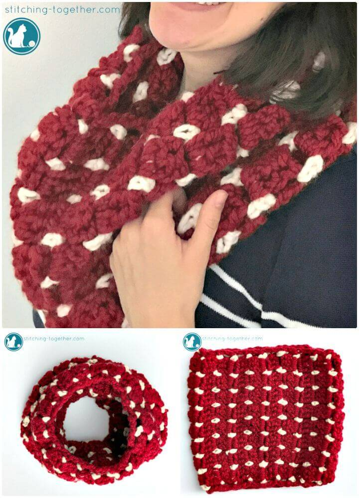 How To Free Crochet All The Squish Cowl Pattern